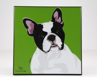 French Bulldog Laminated Picture