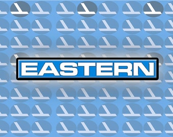 """Eastern Airlines Logo Fridge Magnet 3.25""""x2.25"""" Collectibles (LM14011)"""