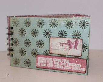 Scrapbook Mini Album, Brag Book, 4x7 album