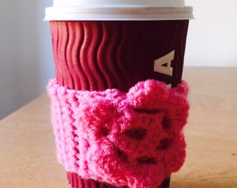 Coffee Cosy in Bubblegum