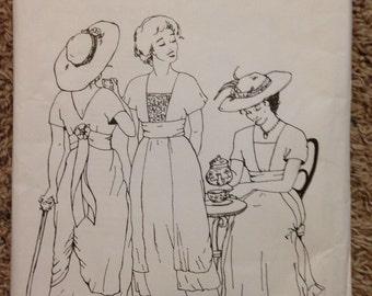 Sense & Sensibility 1910s Tea Gown