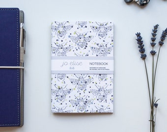 Small notebook, Bee stationery, Bee