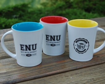 Empty Nester University Coffee Mug-celebrate your empty nest with admission to ENU!!  No essay required and the beds stay made!