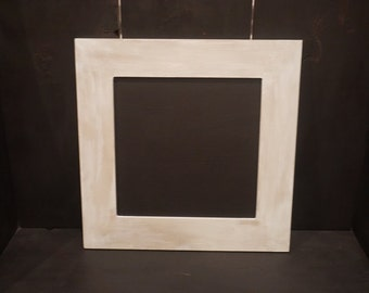 Shabby Chic Square Framed Chalkboard, lightly distressed