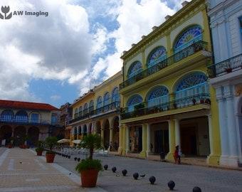 Plaza Vieja, Havana, Urban Photography