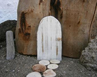 Fairy door, wood, fairy door relaimed