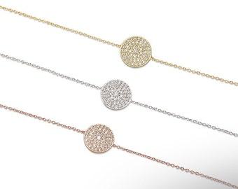 Disc Bracelet 925 / Sterling Silver