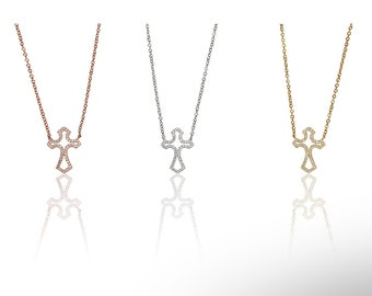 Cross Necklace 925 / Sterling Silver