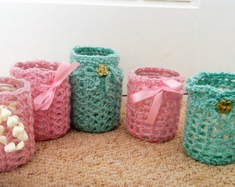 Crocheted Jar covers