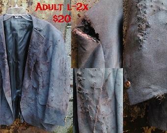 Adult L -2X zombie Suit Coat