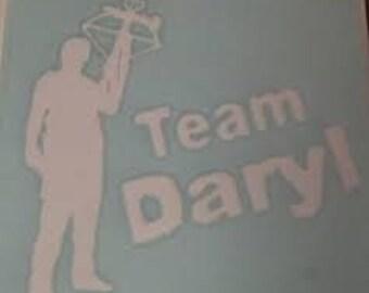 FREE SHIPPING in US - Walking Dead - Team Daryl - Dixon Decal - Bumper Sticker/ Car Decal
