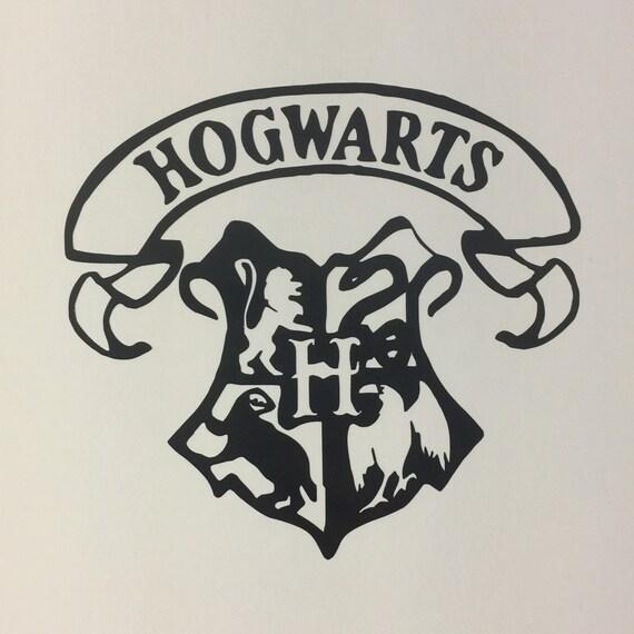 Hogwarts vinyl decal - Hogwarts decal ...