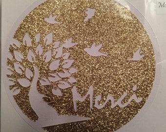Card of thanks tree / Thanks Card Tree