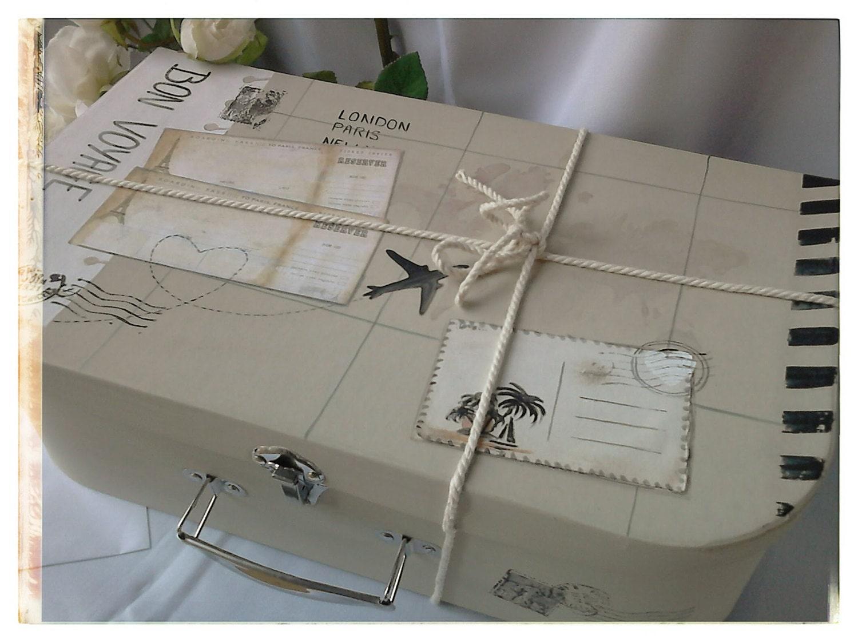 valise urne de mariage voyage. Black Bedroom Furniture Sets. Home Design Ideas