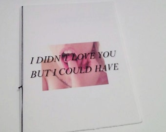 I Didn't Love You But I Could Have - Zine