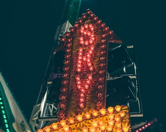 Carnival photography, carnival ride, carnival sign, fine art photographs, orange county fair, fun photography