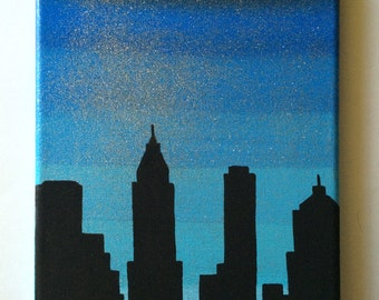 Skyscpraper Canvas