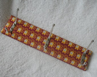 Wardrobe/hook Strip with fabric!