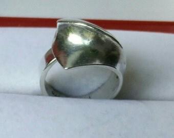 Vintage Ring designer Matti Hyvärinen (MJH), Finland Sirokoru, Sterling silver ring, Silver ring sirokoru, sirokoru, finnish design
