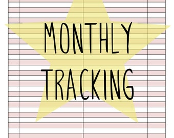 Monthly Tracking Kit