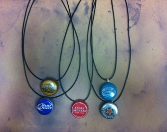 Beer Top Necklace