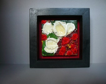 Framed Original Floral painting on canvas: No. 10