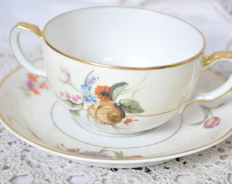 Haviland & Co Tea Cup and Saucer