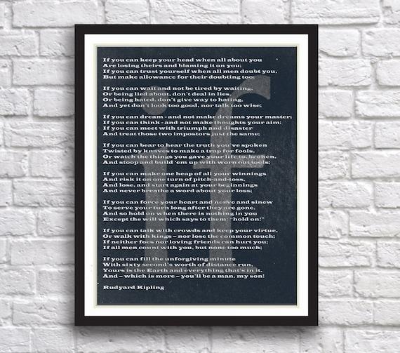 Poem By Rudyard Kipling