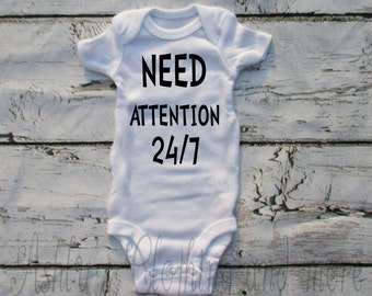 Baby Onesie, Bodysuits, White and Black Onesie, Funny Baby Clothes,Cute Baby Clothing,Baby Boy Clothes, Baby Girl Clothes, Baby TShirt