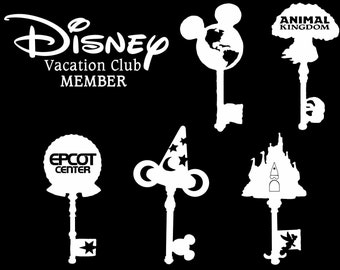 Vacation Club Vinyl Car Decals