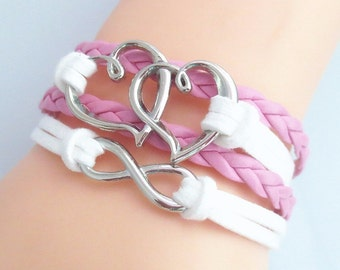 Two Hearts Bracelet