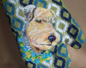 Airedale Art Etsy