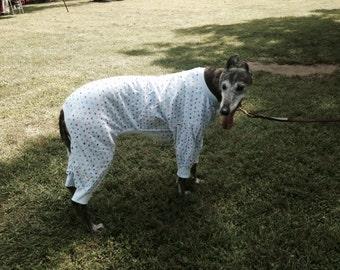 Greyhound pajamas see fabric choices