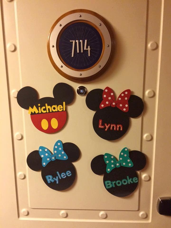 Disney Cruise Line Door Magnet Mouse Door Magnet Kids