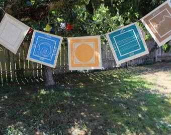 Five Elements Prayer Flag