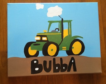 Kids Tractor Painting!
