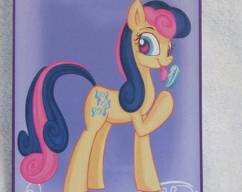 Bon Bon - My Little Pony - Brony Character - Just over A5 size -