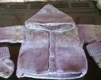 Baby Hoodie with matching UGG Booties