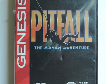 Pitfall the Mayan Adventure for Genesis