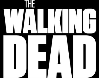 The Walking Dead Logo Vinyl Sticker
