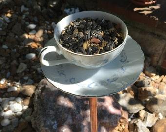 Vintage Tea Cup Bird Feeders