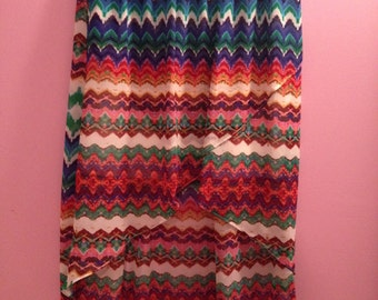Wet Seal Multi-color Maxi Skirt