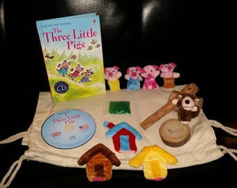 Story Sack - The Three Little Pigs