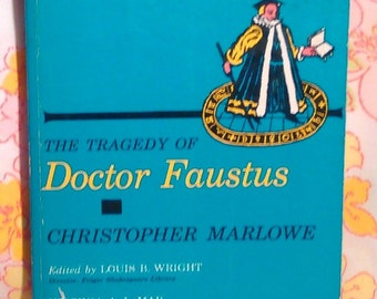 The Tragedy of Doctor Faustus + Christopher Marlowe + 1966 + Vintage Book