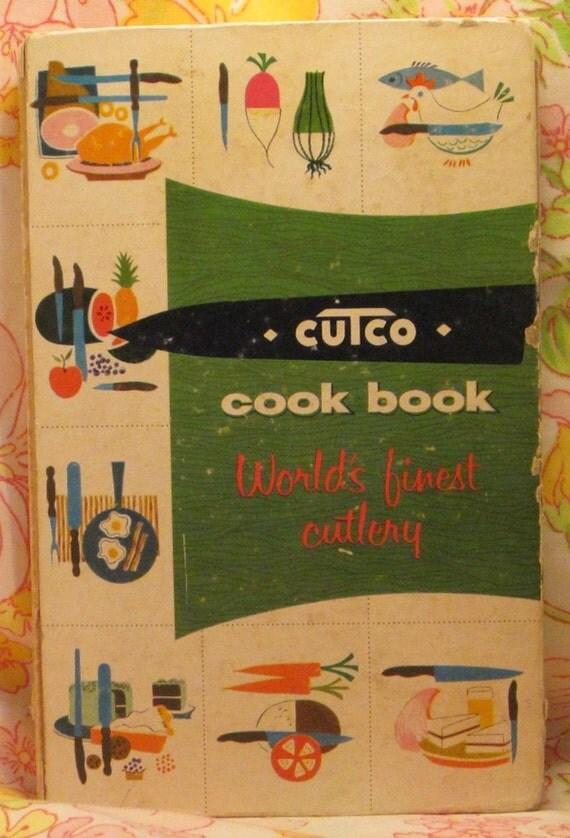 Cutco Cook Book World's Finest Cutlery - Margaret Mitchell - Frank Marcello - 1961 - Vintage Book