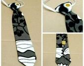 Adorable Gray Toddler Tie Necktie Formal Wear 18m+