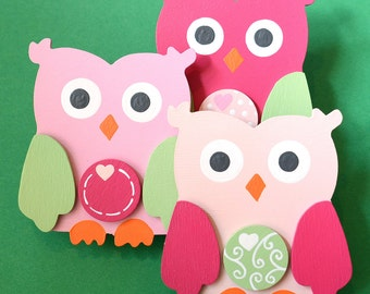 Emily Owl Quilt Clips