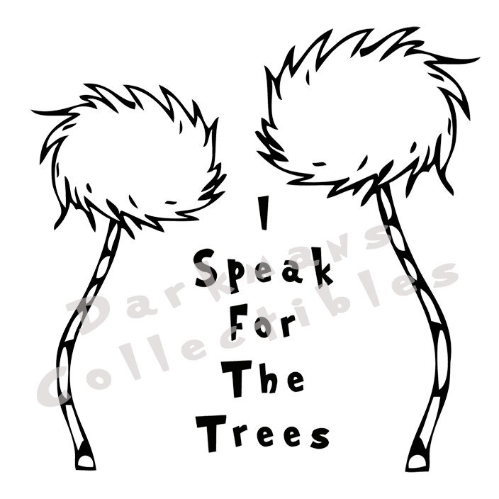 Coloring page truffula truffle tree coloring pages for Truffula tree coloring page