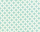 Hello Darling - Orange Peel in Aqua: sku 55111-22 cotton quilting fabric by Bonnie and Camille for Moda Fabrics - 1 yard