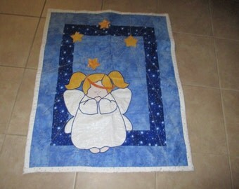 Little Angel baby quilt